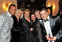 Popstar Haddaway, Claudia Haider, Familie Fischl und Gerald Grosz auf der Grazer Opernredoute