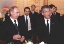 Russlands Staatschef Putin, Bundespräsident Heinz Fischer und Gerald Grosz
